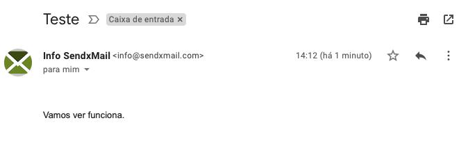 sendxmail test of bimi standard protocol